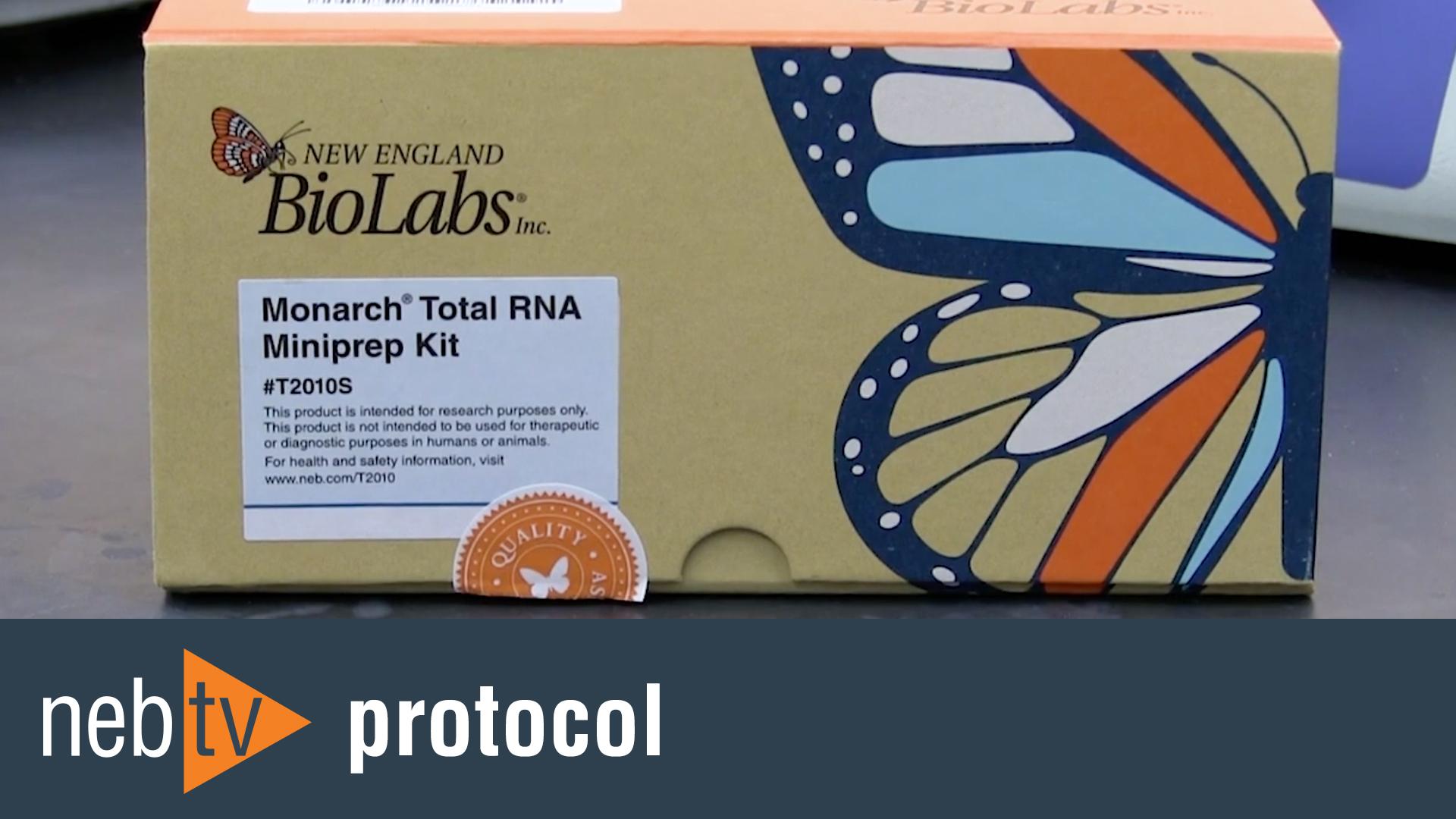 MonarchTotal RNAMiniprep Protocol
